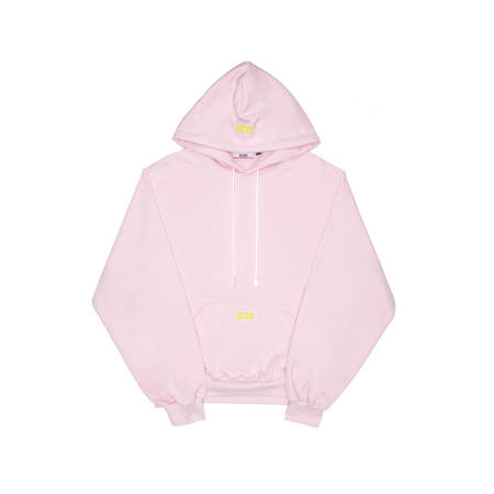 GCDS Maxi Hoodie - Pink