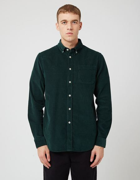 Bhode x Brisbane Moss Shirt - Bottle Green