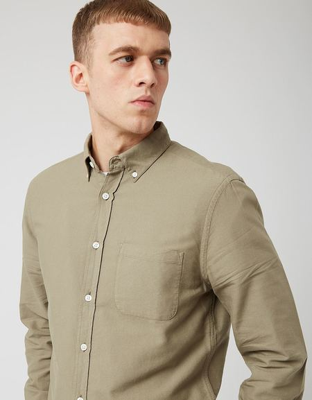 Portuguese Flannel Belavista Shirt - Olive Green