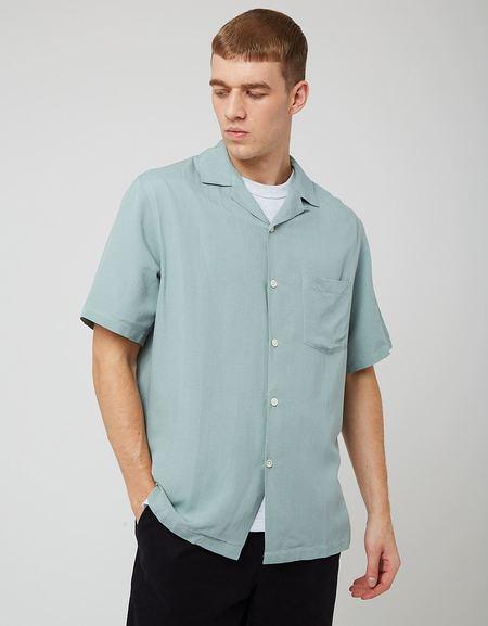 Portuguese Flannel Catown Shirt - Verdete Green