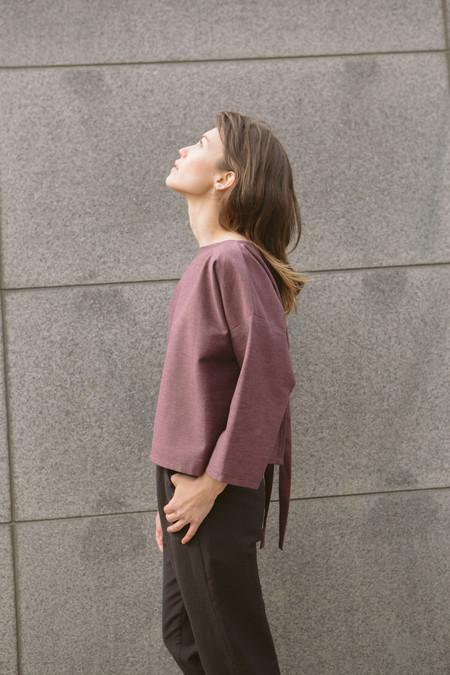 Lily Stan Studio Reversible Tie Back Top