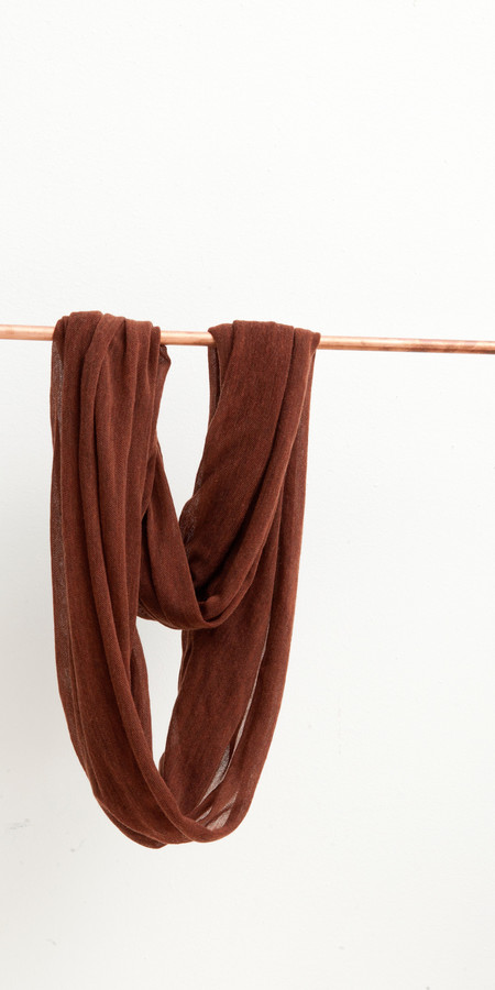 SCHAI Infinity Feather Weight Scarf