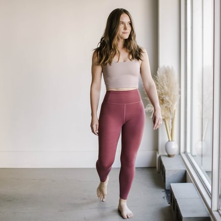 Girlfriend Collective FLOAT High Rise Legging - Fig