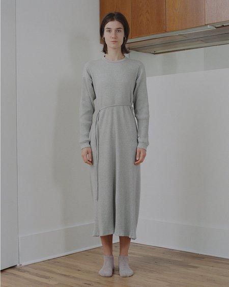 Baserange Shaw Long Sleeve Kaftan - Grey Melange