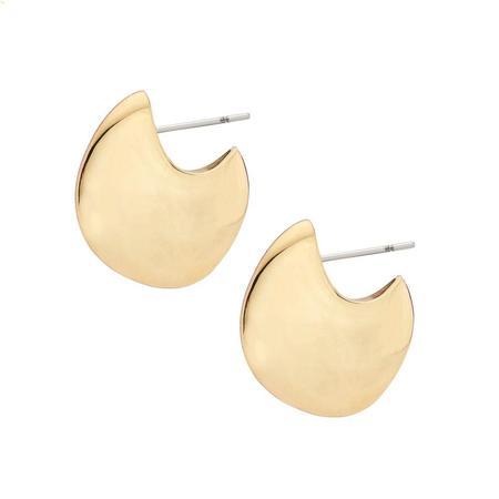 Soko Neema Huggie Hoop Earrings - Gold
