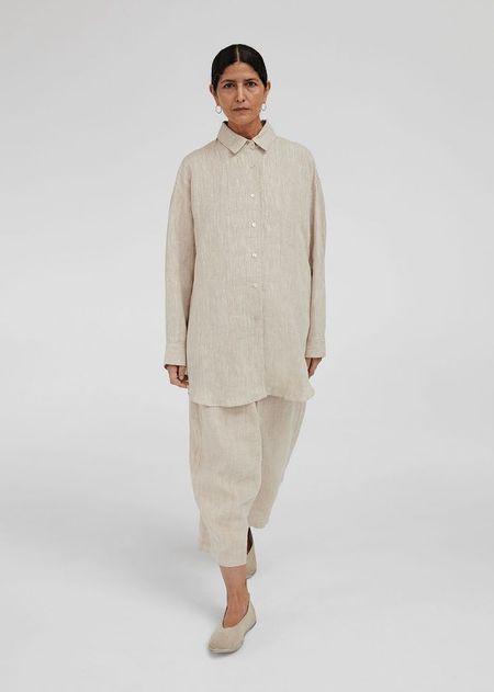 Monica Cordera Linen Shirt - Natural