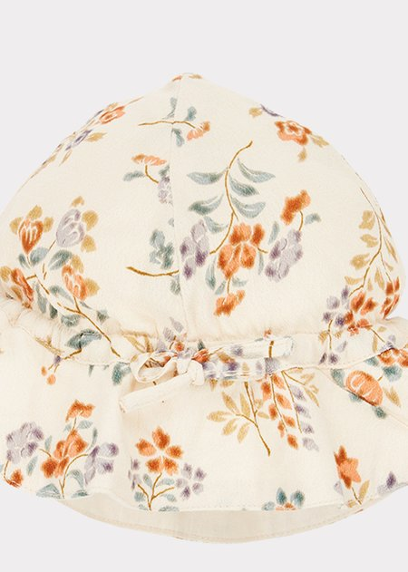 kids Caramel Chiswick Baby Sunhat - Floating Bouquet