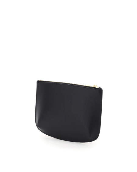A.P.C. Sarah Leather Clutch - Black
