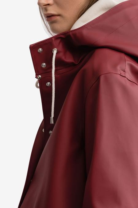Stutterheim Moseback coat - Burgundy