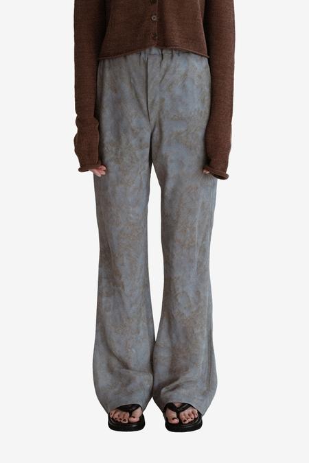 AMOMENTO Tie Dyed Print Pants - Mix