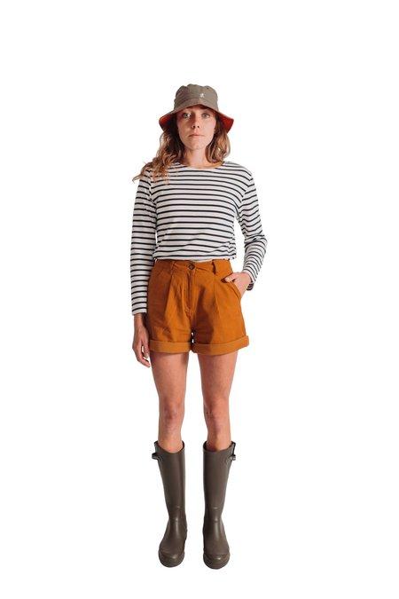 Bridge & Burn Blaire shorts - Gold Canvas