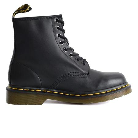 Dr. Martens 1460 Nappa Leather Lace Up High top Boots - Black Nappa