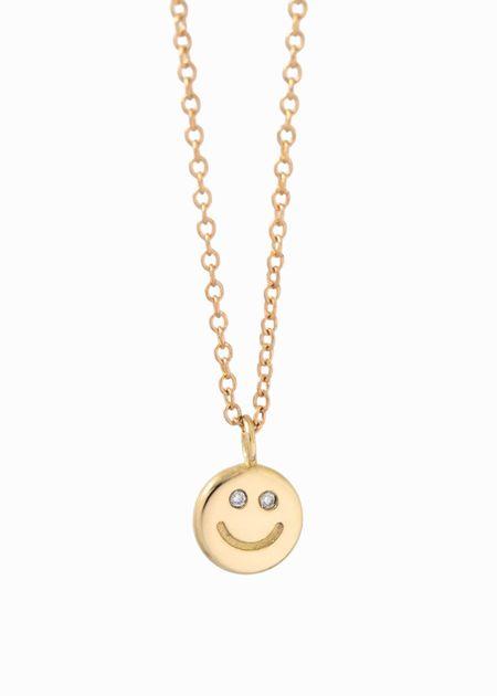 Futaba Hayashi Happy Face Necklace