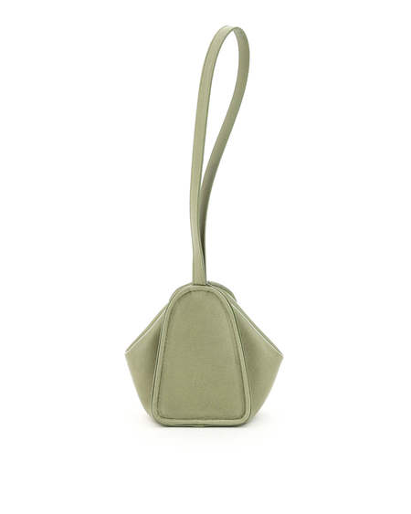 Lemaire Leather Coin Purse - Green