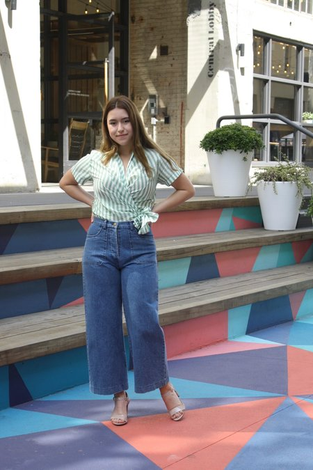 Loup simone jeans - medium indigo