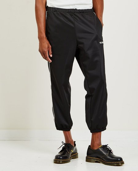 Willy Chavarria Buffalo Track Pant - BLK CLAY