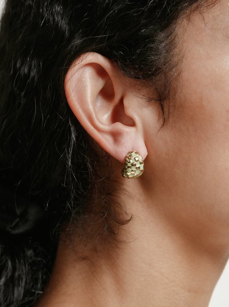 Wolf Circus Nellie Earrings - Green/Gold