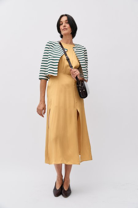 pre-loved Zimmermann Silk Maxi Dress - Yellow