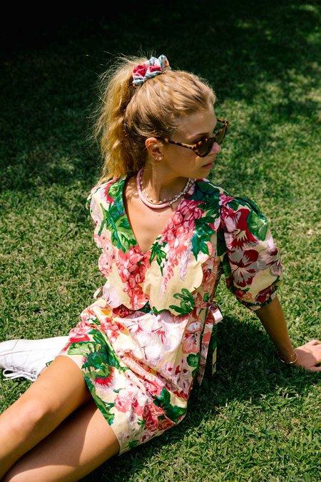Sundress Daisy Dress - Hibiscus