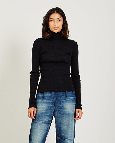 Maison Margiela Rib Knit Sweater - black