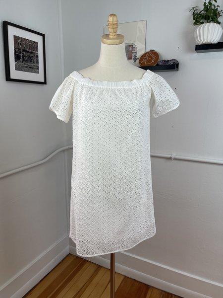 "Rag & Bone Eyelet ""Flavia"" Dress - White"