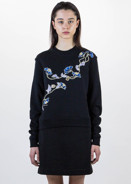 Carven Classic Floral Sweater