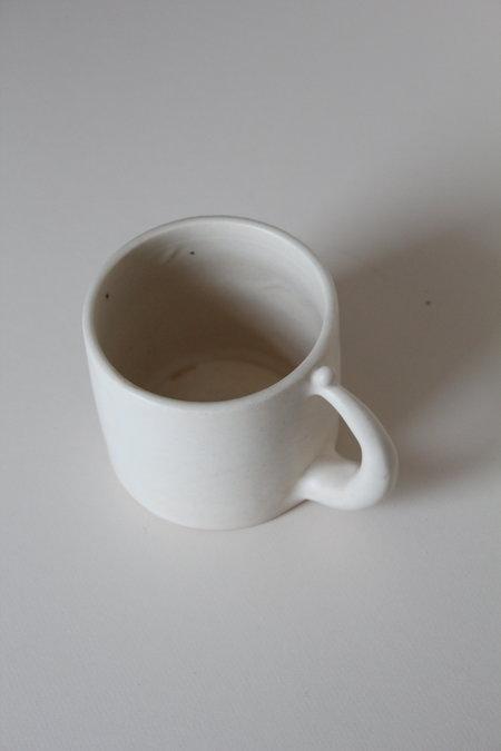 keraclay Sand Mug - white