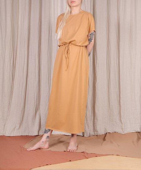 The Club Siri Dress - Brown