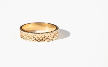 Kindred Black Hepzibah Ring - 14k gold