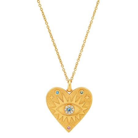 tai Herat Evil Eye Necklace - Gold