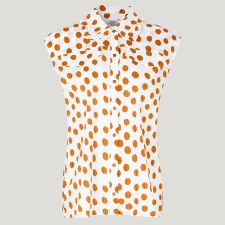 Baum und Pferdgarten Mukunda Shirt - Cathay Spice Mega Dot