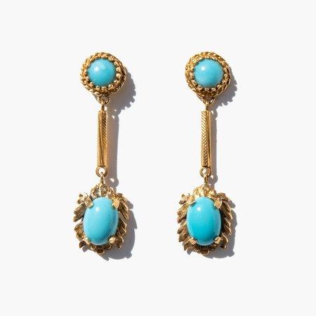 Kindred Black Dahteste Earrings - 14k gold