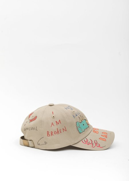 Guernika Paint Cap - BEIGE