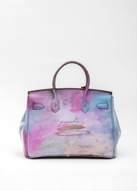 Guernika Paint Anarchy Leather Bag - Multi Color