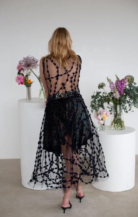 Sydney Pimbley Ostentation Skirt - BLACK