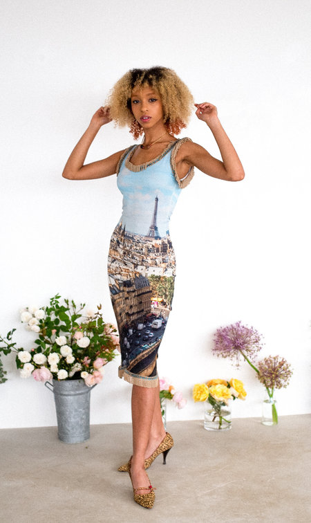 Sydney Pimbley Paris Dress - MULTI