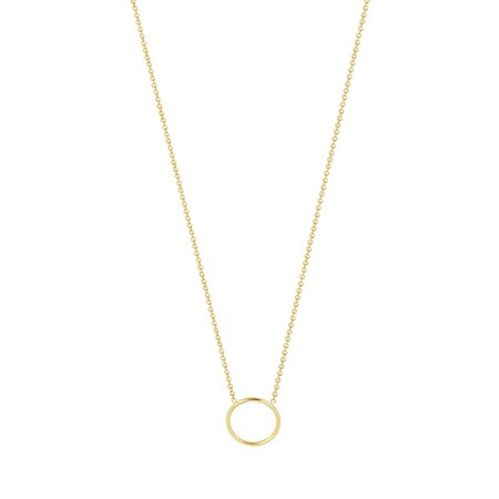 Hortense By Myself Circle necklace - yellow gold