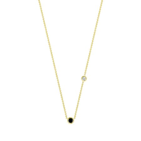 Hortense Double Flirty necklace - yellow gold