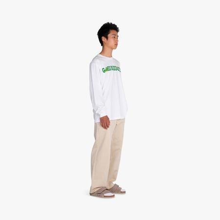 Good Morning Tapes Good Medicine Long Sleeve T-shirt - White