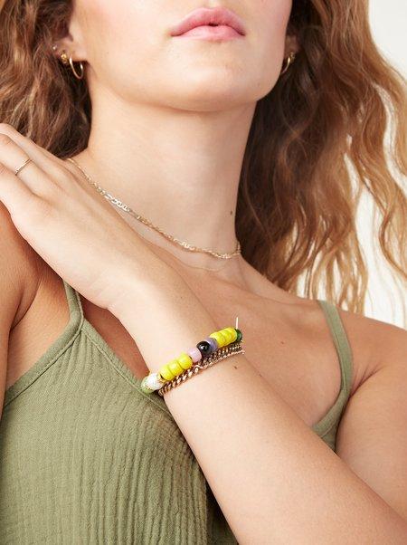 Sunnydaze Jewelry La Paz Bracelet - SUNSHINE MULTI