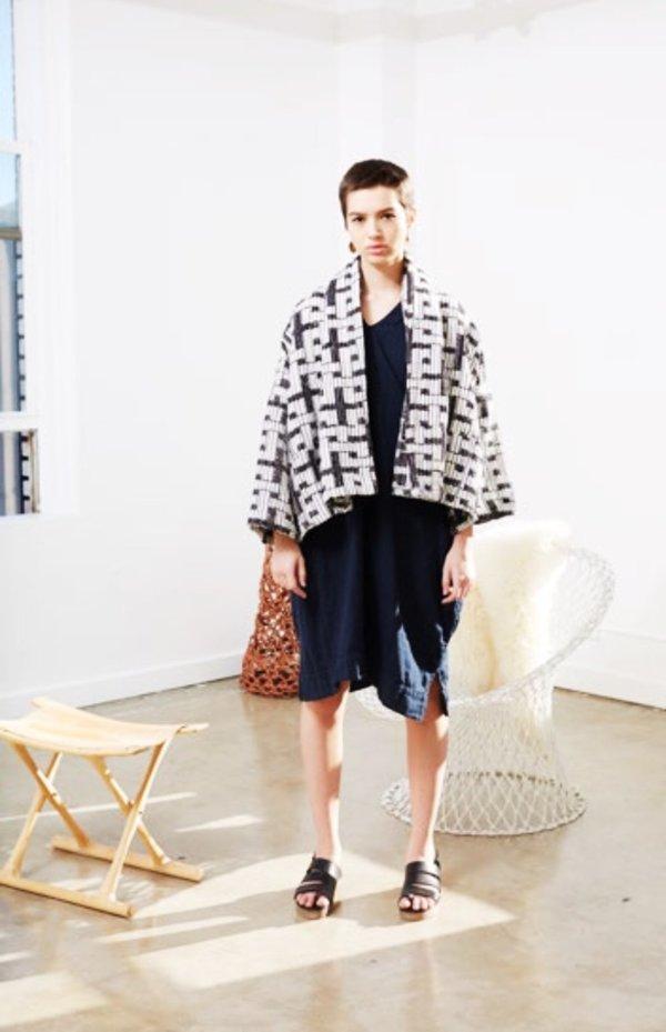 Aelier Delphine. Kimono Jacket. Ethnic Print