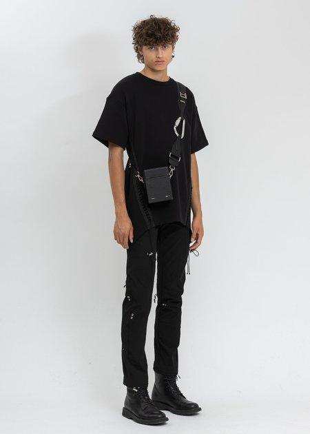 Helmut Lang Laced T-Shirt - BLACK