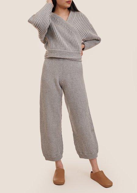 Baserange Tauro Pants - Grey