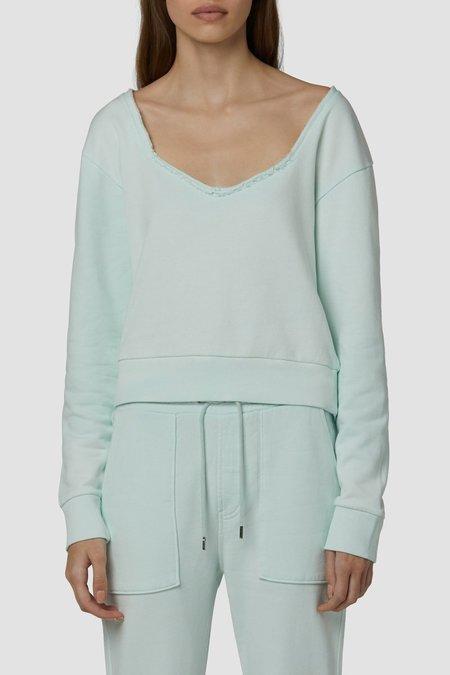 Hudson Jeans Sweetheart Sweatshirt - green