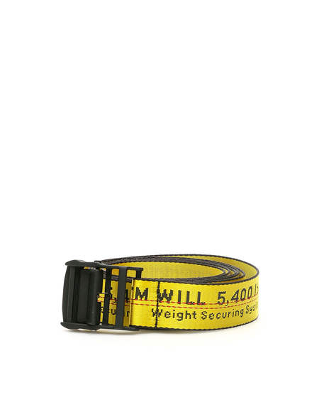 Off-White Industrial Classic Belt - Yellow