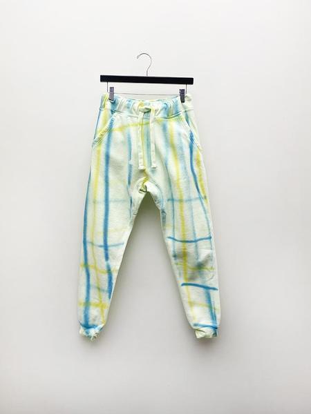 UNISEX Audrey Louise Reynolds Tailored Sweatpants - Plaid