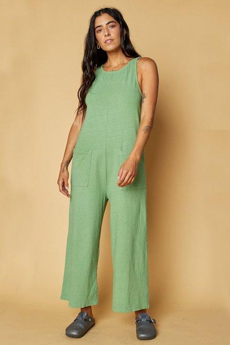Back Beat Co. Organic Cotton Everyday Jumpsuit - Fern