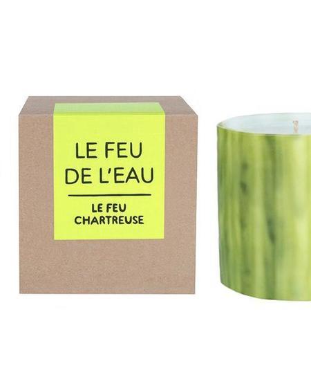 Le Feu De L'Eau CHARTREUSE candle - Cedar/Frankincense