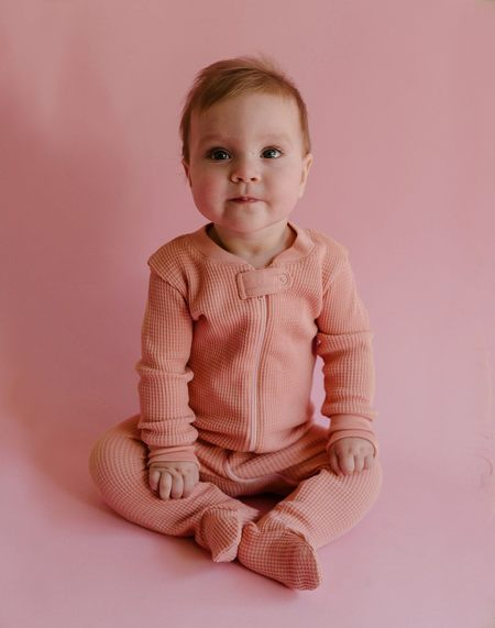 Kids Noble Organic Newborn Gift Bundle Set - Pink Sea Salt