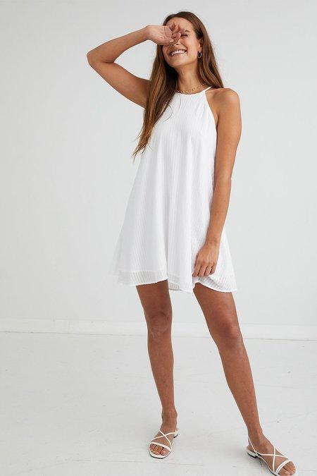 Bella Dahl Halter Dress - White